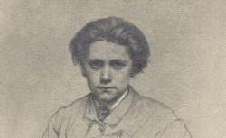 Jules Massenet / d'après le crayon de Jules Clément Chaplain,  1900 - source : gallica.bnf.fr / BnF
