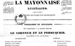"""Accéder à la page """"Mayonnaise littéraire (La)"""""""