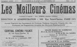 Année disponible : 1919