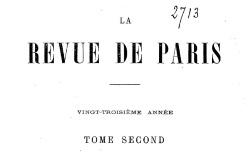 """Accéder à la page """"Blanqui, Adolphe, Souvenirs d'un lycéen (1814)"""""""