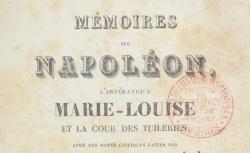 """Accéder à la page """"Durand, Sophie générale, Mémoires (1810-1814)"""""""