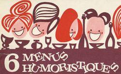 5 menus humoristiques