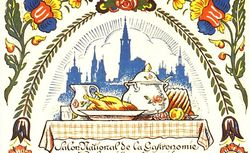 Salon National de la gastronomie et de la cuisine française, Journée Alsacienne-Lorraine, 31 octobre 1931