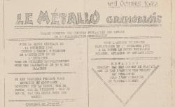"""Accéder à la page """"Métallo grenoblois (Le)"""""""