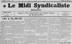 """Accéder à la page """"Midi syndicaliste (Le)"""""""