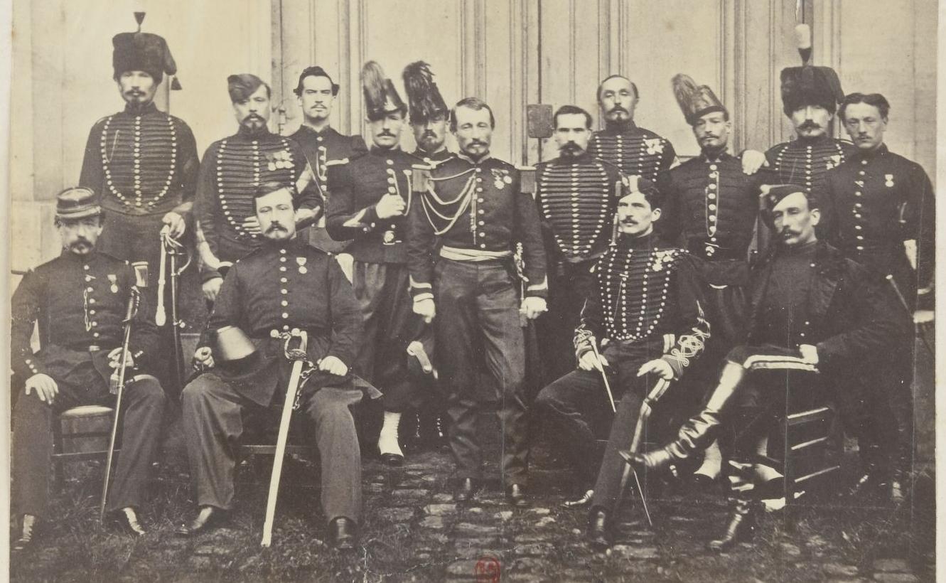 Souvenir de Cochinchine. Photographie d'E. Gsell, 1867. PETFOL-VH-2823
