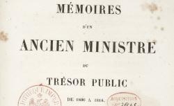 """Accéder à la page """"Mollien, Mémoires d'un ministre du trésor public"""""""