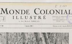 Le Monde colonial illustré