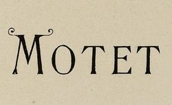 """Accéder à la page """"Motet"""""""