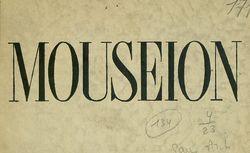 Mouseion : revue internationale de muséographie
