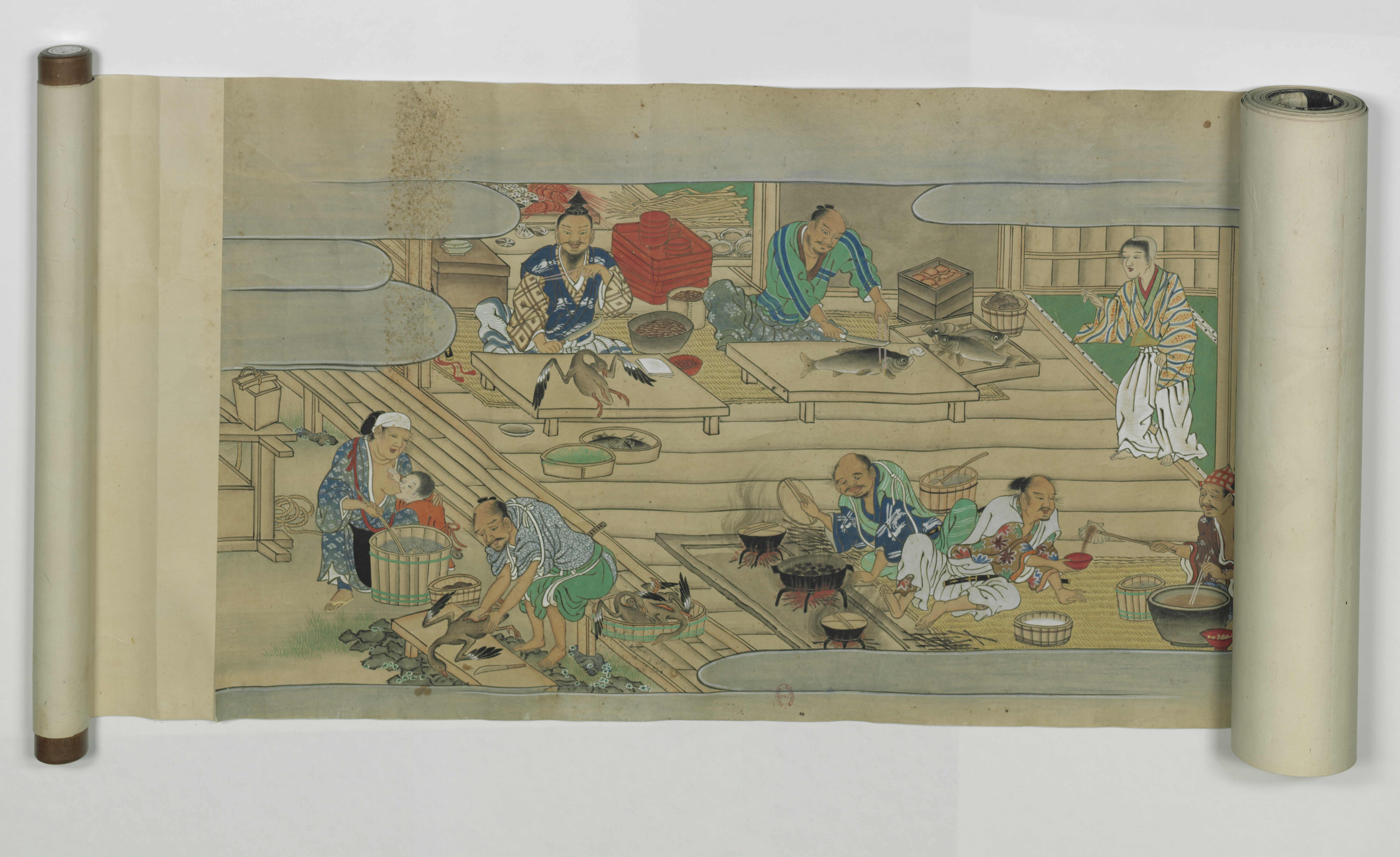 Mérites comparés du saké et du riz. Japonais 5343