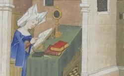 Figure de l'humanisme français: Christine de Pizan a rédigé des poèmes, des traités philosophiques, politiques, et militaires  Mutaciondefortune_fr.603