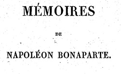 """Accéder à la page """"Mémoires de Napoléon Bonaparte, manuscrit venu de Sainte-Hélène"""""""