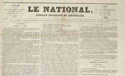 """Accéder à la page """"National (Le)"""""""