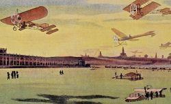 Aérodrome de Pont-Levoy, Loir-et-Cher. Ateliers mécaniques de construction d'appareils et pièces détachées pour l'aviation