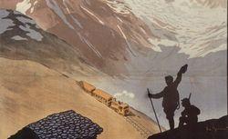 Georges Meunier, L'Ascension du Mont-Blanc [affiche]