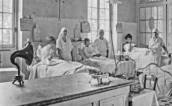 T.S.F. à l'hôpital des enfants, rue de Sèvres, Hôpital Necker