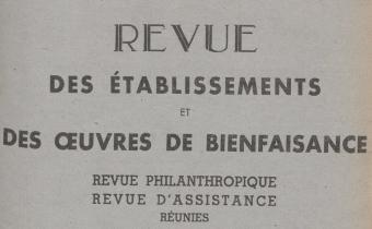 """Accéder à la page """"Revue des établissements & des oeuvres de bienfaisance - 1947"""""""