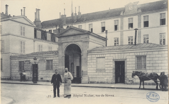 Paris. Hôpital Necker, rue de Sèvres