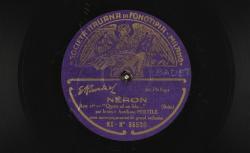 "Néron. Acte 1er : ""Queste ad un lido..."" ; Arrigo Boito, comp. ; Auréliano Pertile, ténor ; acc. d'orchestre - source : gallica.bnf.fr / BnF"