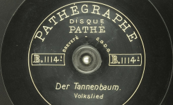 Der Tannenbaum : Volkslied - source : BnF/gallica.bnf.fr