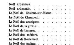 [Texte] Romancero de Champagne. I. Chants religieux - Noëls régionaux (p. 231 et sv) / publ. par Prosper Tarbé - source : BnF/gallica.bnf.fr