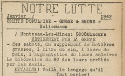 """Accéder à la page """"Notre lutte (Rhône)"""""""