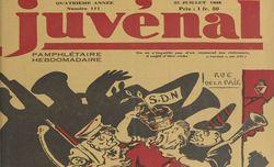 """Accéder à la page """"Nouveau Juvénal, hebdomadaire pamphlétaire"""""""