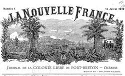 """Accéder à la page """"Nouvelle France (La)"""""""
