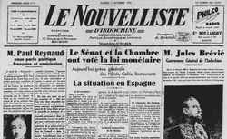 """Accéder à la page """"Nouvelliste d'Indochine (Le)"""""""