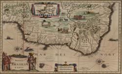 Novus Brasiliae typus, Guiljelmus Blaeuw, 1640-1699