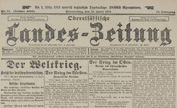 "Accéder à la page ""Oberelsässischer Landes-Zeitung"""