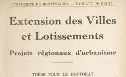 """Accéder à la page """"La Faculté de Droit de l'Université de Montpellier"""""""