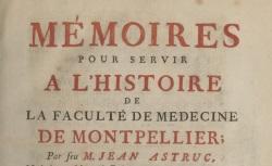 """Accéder à la page """"La Faculté de Médecine de l'Université de Montpellier"""""""