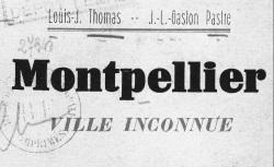 """Accéder à la page """"Rues et monuments de Montpellier"""""""