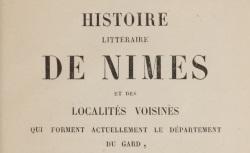 """Accéder à la page """"Histoire de Nîmes"""""""