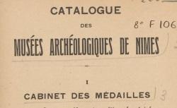 """Accéder à la page """"Musées de Nîmes"""""""