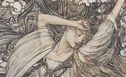 Ondine, de Friedrich Heinrich Karl de La Motte Fouqué, illustré par Arthur Rackham, 1912