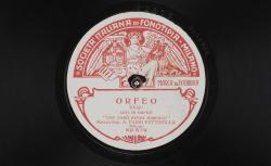 """Orfeo. Aria di Orfeo : """"Che faro senza Euridice"""" ; Christoph Willibald Gluck, comp. ; A. Parsi Pettinella, mezzo-soprano ; acc. d'orchestre - source : gallica.bnf.fr / BnF"""
