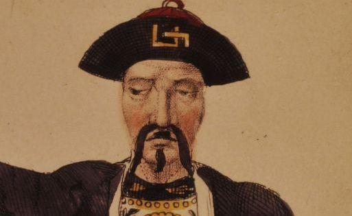 L'orphelin de la Chine, tragédie de Voltaire : costume de Sarrazin