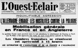 """Accéder à la page """"Ouest-Éclair (L')"""""""