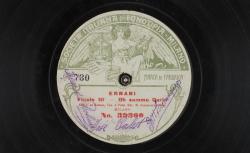 Ernani. Oh, sommo Carlo : finale III ; [Verdi], comp. ; I. Bohuss, S ; J. Palet, T ; M. Sammarco, BAR - source : gallica.bnf.fr / BnF