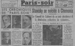 """Accéder à la page """"Paris-Soir"""""""