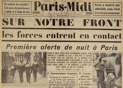"""Accéder à la page """"Paris Midi"""""""