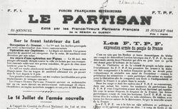"""Accéder à la page """"Partisan (Le) (Quercy)"""""""