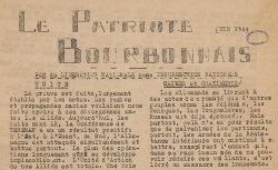 """Accéder à la page """"Patriote bourbonnais (Le)"""""""