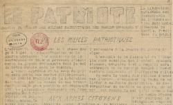"""Accéder à la page """"Patriote (Le) (Bouches-du-Rhône)"""""""