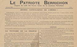 """Accéder à la page """"Patriote berrichon (Le)"""""""