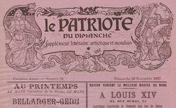 """Accéder à la page """"Patriote du dimanche (Le)"""""""