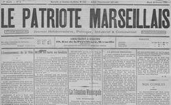 """Accéder à la page """"Patriote marseillais (Le)"""""""